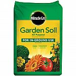 Garden Soil Miracle-Gro 0.75 cu. ft. All Purpose $2.50