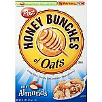Breakfast Cereals: Honey Bunches, Rice Krispies & more $1.99 Shipped