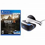 PS4 PlayStation VR - Standalone + Resident Evil 7 Biohazard $400
