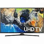 "Samsung UN50MU6300 50"" Smart LED HDTV with 4K Resolution (2017 Model) $610"