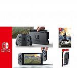 Nintendo Switch with Gray Joy-Con, Legend ofZelda & Accs. $449.96