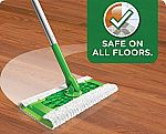 64-Count Swiffer Sweeper Dry Sweeping Pad Refills $10