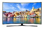 "43"" Samsung UN43KU7500 Curved 4K Ultra HD Smart LED TV $525"