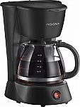 Insignia - 5-Cup Coffeemaker $5.99