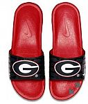 Nike Men's Benassi Solarsoft Slides: NCAA or NFL $20