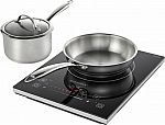 Insignia 4-Piece Induction Cooktop Set $55