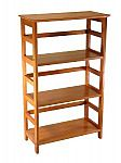 Winsome Wood 4-Tier Bookshelf $46.15 (66% Off)