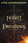 Middle-Earth Extended Editions 6-Film Digital Collection (Lord of Rings and The Hobbit Trilogy) $39.99