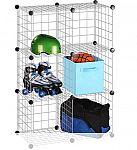 Honey Can Do 6-Pack Mesh Modular Storage Cube $20 + $5 shipping