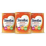 3 Pack Similac Infant Formula with Iron 34.9oz $67.47
