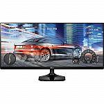 "LG 29"" IPS LED 21:9 UltraWide Monitor $210"