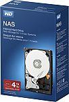 WD - NAS 4TB Internal SATA Hard Drive for Desktops $120