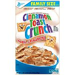 Cereal (26.8-Oz Kelloggs, 20.25-Oz General Mills) $3 + Free shipping