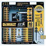 Dewalt 40 Piece Impact Ready Screwdriver Set (DWA2T40IR) $14.99