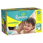 152-Count Pampers Swaddlers Size 5 Diapers ($19.39 for Amazon Family Members)