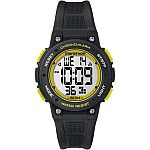 Timex Marathon Black/Yellow Chronograph Timer Alarm Sport Watch TW5K84900 $9.99