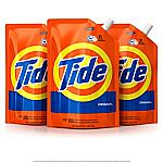 3-Pack of 48oz Tide Smart Pouch HE Liquid Laundry Detergent $14