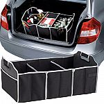 Extra Large Car Auto Trunk Organizer with 3 Compartments $6.99