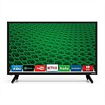 VIZIO 24 Inch LED Smart TV D24-D1 HDTV $140 + $75 Dell Promo eGift Card