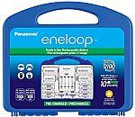 Panasonic Eneloop Rechargeable Batteries (8xAA, 2xAAA) + Charger $23.94