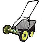 "Sun Joe Mow Joe 18"" Manual Reel Mower with Catcher $65.13"