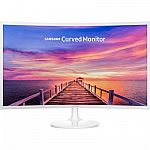 """Samsung CF391 Series 32"""" LED Curved Monitor $275"""