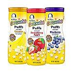 6-pack Gerber Graduates Puffs Cereal Snack $7.87