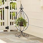 Essential Garden Hanging Basket Plant Stand $8.10