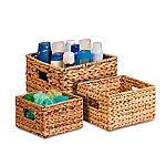 Honey-Can-Do STO-02882 Nesting Banana Leaf Baskets, Multisize, 3-Pack $21