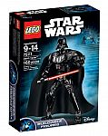 LEGO Star Wars 75111 Darth Vader Building Kit $19, Kylo Ren's Command Shuttle 75104 $81 and more