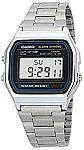 Casio Men's A158WA-1DF Stainless Steel Digital Watch $9.75