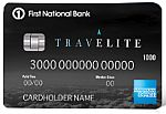 First National Bank TravElite American Express® Card  - Earn a $250 statement credit with purchase