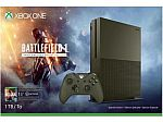 Xbox One S 1 TB Console - Battlefield 1 Special Edition Bundle $240