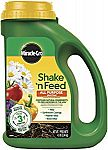 4.5lb Miracle-Gro 3001910 Shake 'N Feed All Purpose Continuous Release Plant Food $7.99
