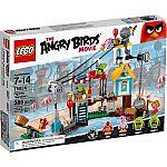 LEGO Angry Birds 75824 Pig City Teardown $21