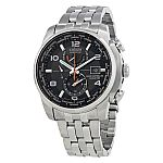 Citizen Eco Drive Stainless Steel Mens Watch AT9010-52E $246