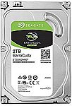 Seagate 2TB BarraCuda SATA 6Gb/s 64MB Cache 3.5-Inch Internal Hard Drive (ST2000DM006) $60