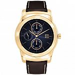 LG Watch Urbane Luxe Smartwatch (23K Gold) $150
