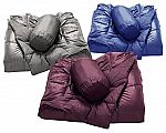 Packable Down-Filled Oversized Throw with Travel Pouch $20 + $5 shipping