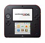 Nintendo 2DS (Crimson Red) - Factory Refurbished $60