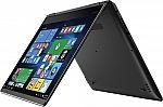 "Lenovo 710 2-in-1 15.6"" 4K UHD Touch-Screen Laptop (i7-7500U 16GB 256GB SSD GTX940MX) $880"