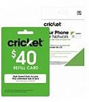 Purchase Cricket Wireless SIM Kit ($1), get 20% Off Any Cricket Refill Card