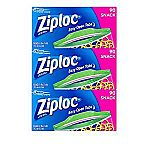 Ziploc Snack Bags, 270 Count $7.02 (with Subscribe)