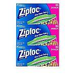 Ziploc Snack Bags, 270 Count $6.70