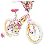 "16"" Dora Pets Sidewalk Bike, Pink $39"