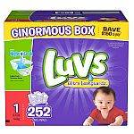 Luvs Ultra Leakguards Diapers (All Sizes) $19.48