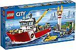 LEGO CITY Fire Boat 60109 $48.44