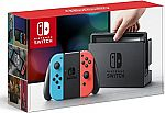 Nintendo Switch with Neon Blue and Neon Red Joy-Con $299.99