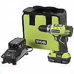 Ryobi ONE+ 18V Li-Ion Compact Drill/Driver Kit + Cordless Reciprocating Saw $99
