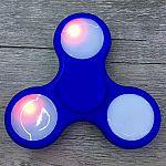 Anti-Stress Toy Color Changing LED Fidget Finger Spinner $2.89